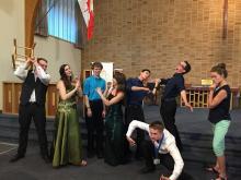 KPU students performing at provincials