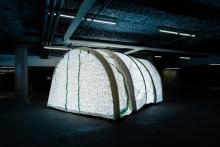 Students and instructors from the Wilson School of Design at Kwantlen Polytechnic University have created a special shelter for astronauts to prepare for future missions to the Moon and Mars.