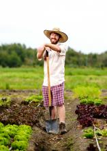 Alex Stark is a Kwantlen Polytechnic University alumnus and graduated from the Sustainable Agriculture and Food Systems program.