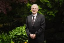 Kwantlen Polytechnic University is presenting KPU Foundation Board of Directors member Bill Wright with an Honorary Degree for his voluntary service.
