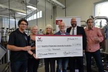 John Mitchell Legacy Scholarship helps brewing students at Kwantlen Polytechnic University