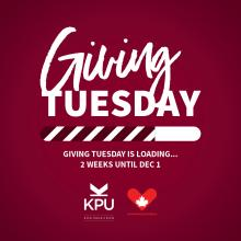 The KPU Alumni Association (KPUAA) is playing a lead role in a campaign to raise much-needed funds to support students at Kwantlen Polytechnic University (KPU).