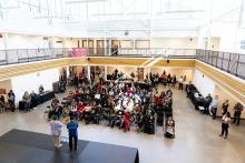 Open Doors, Open Minds welcomes largest group of high school students to Kwantlen Polytechnic University.