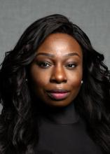 Kwantlen Polytechnic University student Rita Nwokolo is showcasing her project at the Wilson School of Design Technical Apparel Grad show 2019