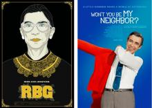KDocs at Kwantlen Polytechnic University is hosting a mini documentary festival featuring RBG and Won't You Be My Neighbor?