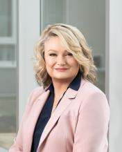 Kwantlen Polytechnic University Dean of Business Stephanie Howes has won the Corporate Leadership award at the Surrey Board of Trade Women in Business Awards.