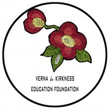 Verna J. Kirkness Education Foundation logo
