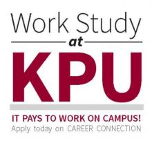 work on campus, work study, kpu, student
