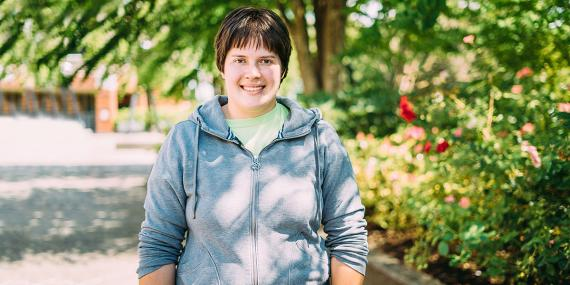 Johanna Walker, Sustainable Agriculture Student