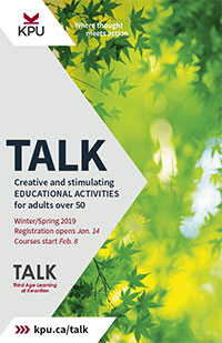 TALK program 2018 Brochure