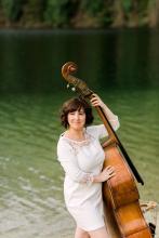 Kwantlen Polytechnic University music teach and bassist Jodi Proznick