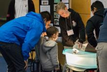 South Fraser Regional Science Fair 2017 at Kwantlen Polytechnic University's Langley campus